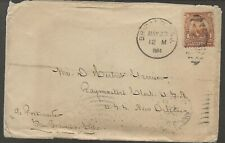 1904 Cover to US Navy Paymaster on USS New Orleans