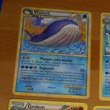 TCG POKEMON FRENCH RARE CARD CARTE WAILORD 31/102 PV180 VF FR **