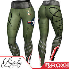 Anarchy Apparel WOD Proof Bomber Compression Leggings | CrossFit Gym Fitness