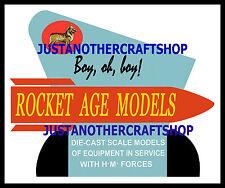 Corgi Toys Rocket Age Large Size 1960's Poster Leaflet Shop Display Sign Advert