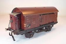 Fleischmann Spur 0 46080 gedeckter Güterwagen Blech Nr.1 Keine OVP #1160