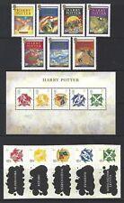 GRAN BRETAGNA 2007 Harry Potter unmounted Nuovo di zecca, Gomma integra, non linguellato