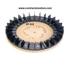 "Floor Machine Diamabrush Concrete Prep Tool 25 Grit 20"" Heavy Duty"