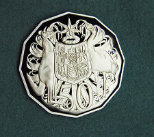 1997 50 cent coin PROOF Coat of Arms Australia ex set