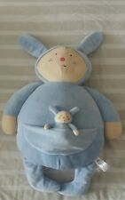 GORGEOUS SIA KIDS LARGE BLUE SOFT TOY WITH MATCHING BABY IN POUCH