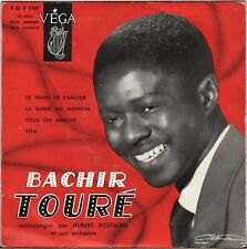 "BACHIR TOURE / HUBERT ROSTAING ""LE TRAIN DE L'AMOUR"" 50'S EP VEGA 1769"