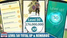 Pokémon Go 2,000,000 XP Added!(2Million) 100 Space+1 Lucky Egg Needed👍