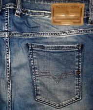 ORIGINAL DIESEL SLEENKER 0681N SLIM SKINNY JEANS BLUE W 34/32 TEPPHAR THOMMER