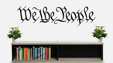 We The People Wall Decal Constitution Patriotic Gadsden Don't Tread Liberty Flag