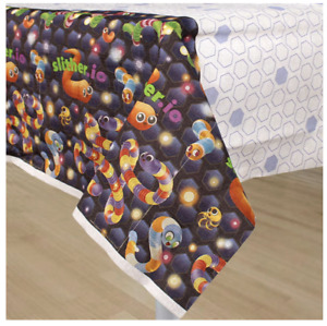 Slither.io Paper Table Cover Kids Birthday Party Supplies Gamers Party Slitherio