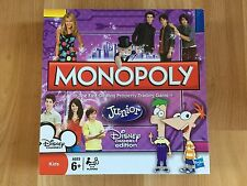 Disney Channel Monopoly Junior board game complete discontinued Hasbro Phineas