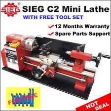SIEG C2 / 180x300mm Variable Speed Mini Hobby Lathe with  Auto Feed
