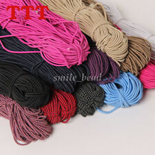 5 Yards Round Elastic Stretch Cord Waist Band for Sewing Hair Band DIY Crafts