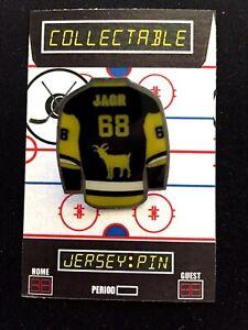 Pittsburgh Penguins Jaromir Jagr jersey lapel pin-Collectable-Hockey GOAT!