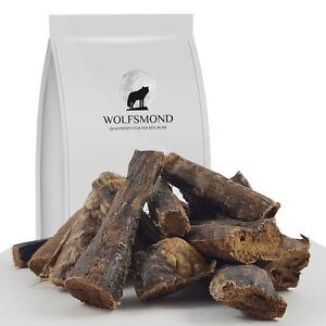 1 - 10 kg Rinderlunge getrocknet wie Pansen Dörrfleisch Hundefutter Lunge Snack