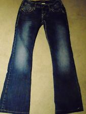 Silver Pioneer  Women's Jeans with embroidery  W25 L33