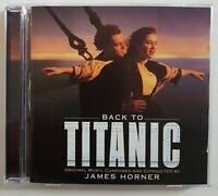 """B.O. FILM ♦ CD """"BACK TO TITANIC"""" (SOUNDTRACK) by CELINE DION, JAMES HORNER"""