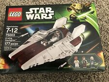 Lego Star Wars 75003 A-wing Starfighter Han Solo Ackbar Retired 2013,new sealed