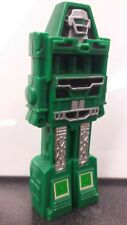 BUBBLE MAN, GoBots, 1984 Tootsietoy, green