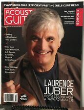 Acoustic Guitar Laurence Juber New Old Gear Innovation Oct 2018 FREE SHIPPING JB