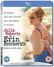 Blu Ray ERIN BROCKOVICH. Julia Roberts. New sealed.