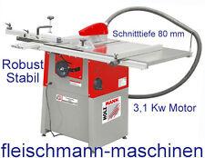 Holzmann Tischkreissäge Kreissäge Säge TS250 230V Formatsäge + Schiebeschlitten