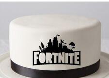 FORTNITE Logo Edible Image REAL Icing Cake Topper