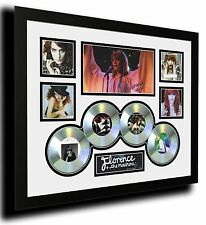 FLORENCE AND THE MACHINE SIGNED LIMITED EDITION FRAMED MEMORABILIA