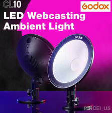Godox CL10 LED Webcasting Ambient Light Selfie Ring Light Dimmable For Studio