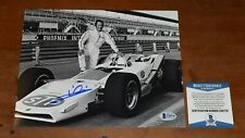 MARIO ANDRETTI Signed 8x10 Photo-Racing Legend-Hall of Fame-Beckett
