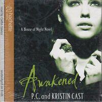 P C & Kristin Cast Awakened 8CD Audio Book NEW House Of Night 8 Vampire FASTPOST