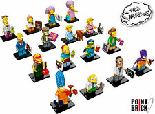 LEGO 71009 MINIFIGURES Serie The Simpsons 2 - Collezione COMPLETA 16 Minifigure