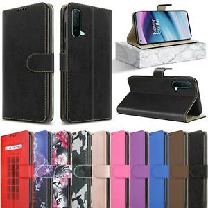 For OnePlus Nord CE 5G Wallet Case, Slim Magnetic Flip Stand Leather Phone Cover