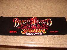 Blades of Blood Samurai Showdown 3 Video Arcade Game MARQUEE, Atlanta (#3)