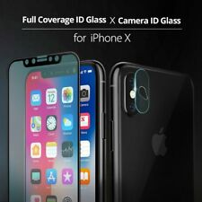 iPhone X Screen Protector Ringke 3D Full Coverage Tempered Glass + Camera Shield