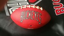 The Ohio State Buckeye kids small toy football 6 1/2 inches.