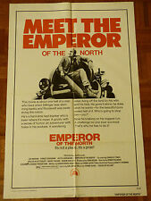 EMPEROR OF THE NORTH ORIGINAL 1973 ONE SHEET MOVIE POSTER LEE MARVIN 41 X 27