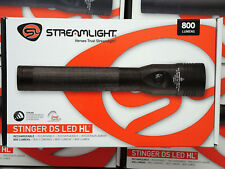 New Production Streamlight STINGER DS LED HL Flashlight 75453 Dual Switch
