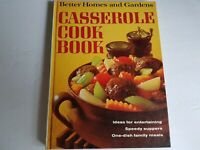 Better Homes and Gardens Casserole Hardcover Cookbook Recipes Vintage