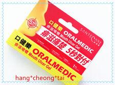 OralMedic Mouth Ulcer Treatment Gel Stick - 5 seconds Pain Relief 1 Treatments