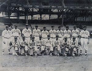 Homestead Grays (Josh Gibson) 1930's - Negro League, 8x10 B&W Team Photo