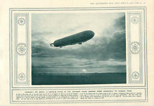 1915 German Zeppelin Tyneside Bombing Pine-wood Destroyed By Shell-fire