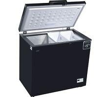 LOGIK L200CFB17 Chest Freezer - Black - 199L Capacity- Suitable for outbuildings