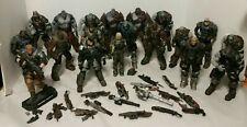 Gears of War Mixed Action Figures Lot of 19 Neca