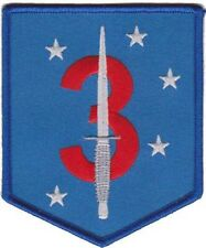 USMC 3rd Raider Battalion Color Patch Sticker NEW!!!