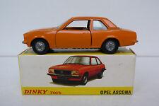 DINKY TOYS    OPEL ASCONA  REF 011543    1980  TRÈS BON ÉTAT   BOITE D'ORIGINE