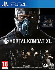 Mortal Kombat XL PS4 Playstation 4 IT IMPORT WARNER BROS