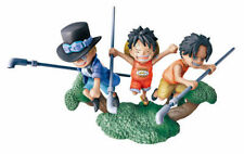 Megahouse One Piece LogBox 04 The New World Journey Figure Luffy Ace Sabo NO BOX