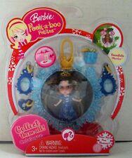 Barbie Peek-a-boo Petites Snowflake Flurries Collection - 34 So Much Fun Shan..