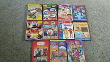 LOT/11 Preschool Educational DVD's Blues Clues~Thomas~Wiggles~Barney~Dora  FUN